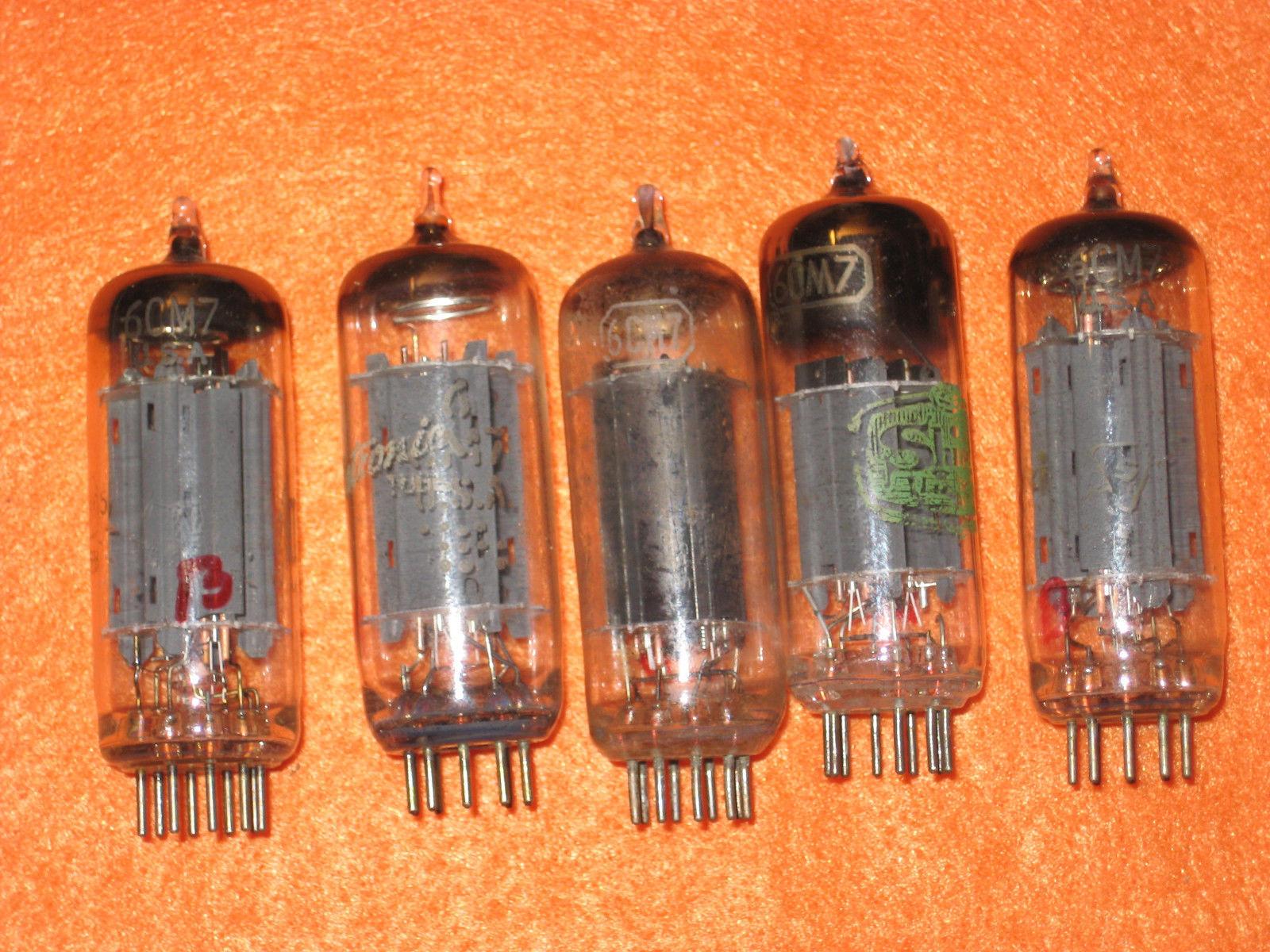 Vintage Radio Vacuum Tube (one): 6CM7 - Tested Good