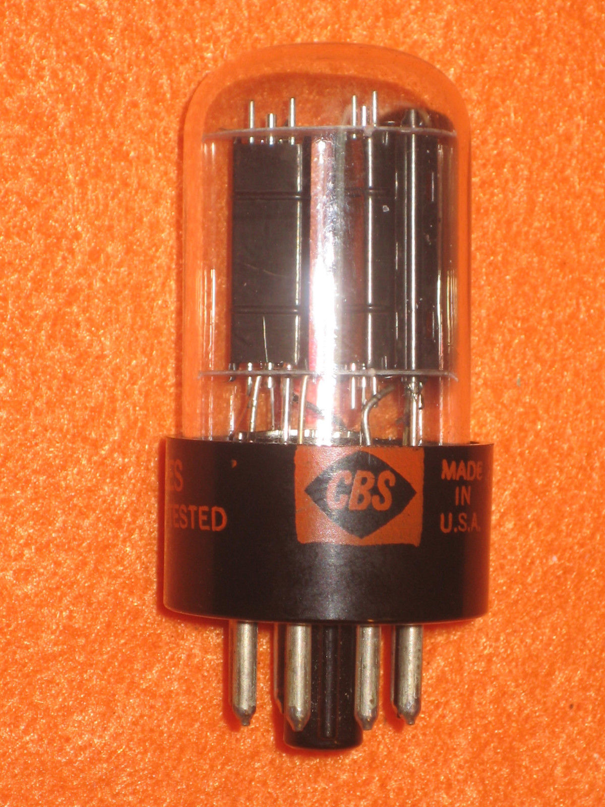 Vintage Radio Vacuum Tube (one): 6AQ7 6AQ7GT - Tested Good