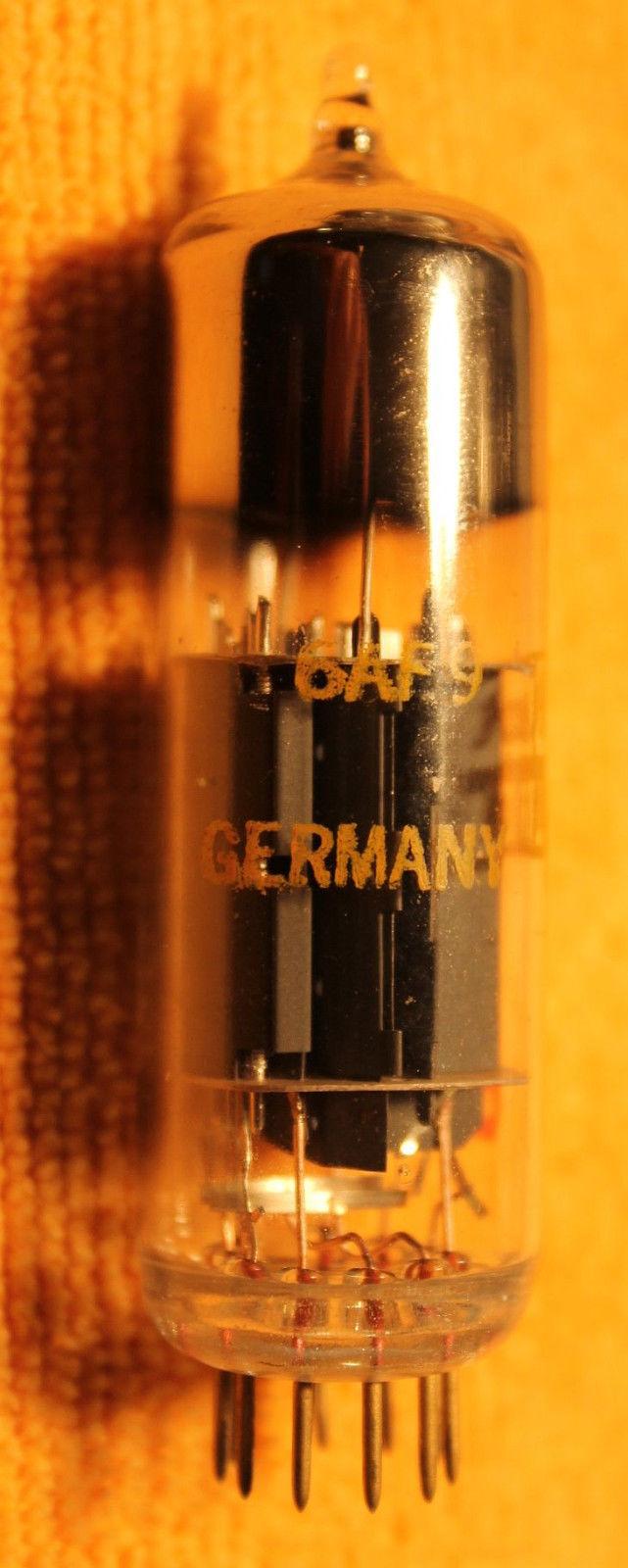 Vintage Radio Vacuum Tube (one): 6AF9 - Tested Good