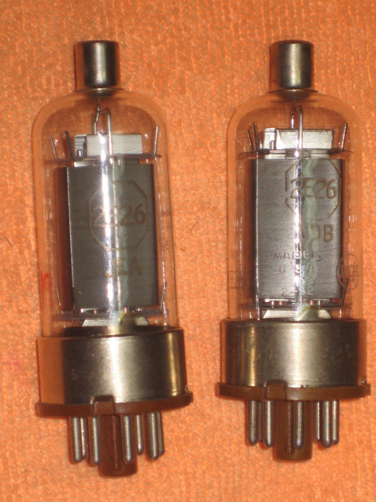 Vintage Radio Vacuum Tube (one): 2E26 - Tested Good