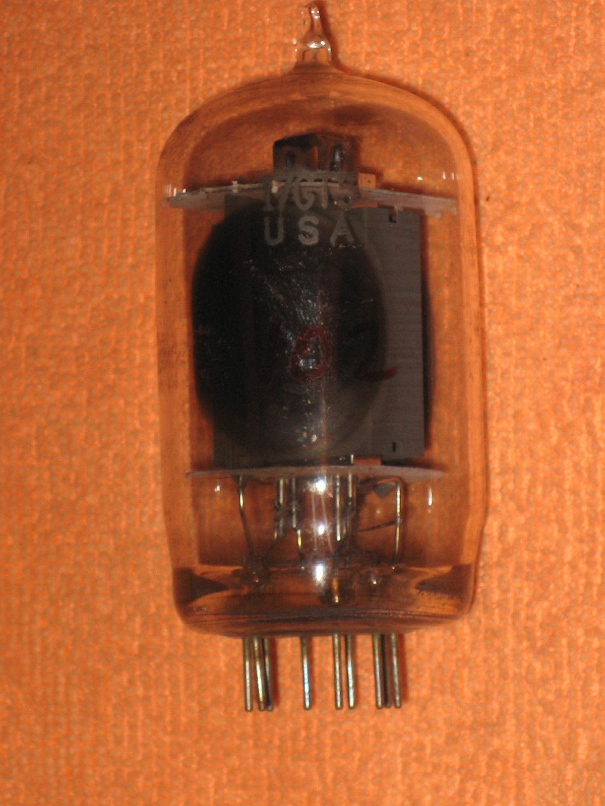 Vintage Radio Vacuum Tube (one): 17GT5 - Tested Good