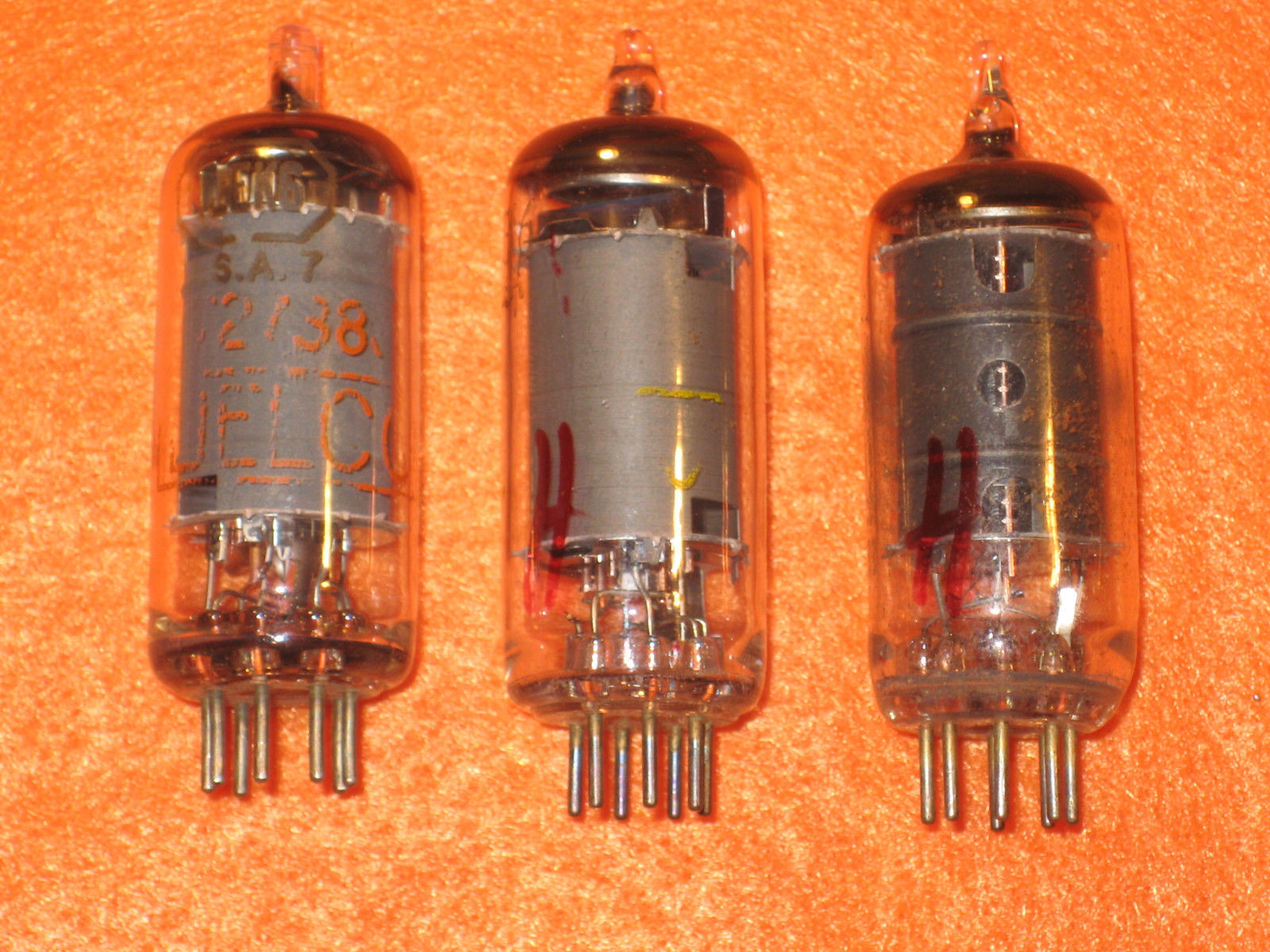 Vintage Radio Vacuum Tube (one): 12EK6 - Tested Good