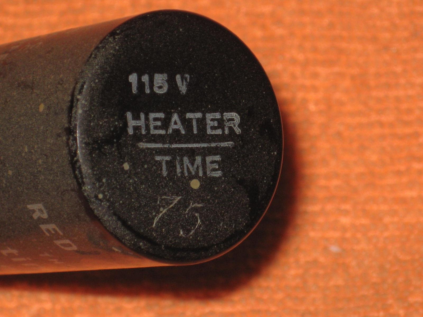 Vintage Delay Relay (one): G-V Controls, 115 v, 75 SEC - UNTESTED