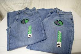 Lot of 2 Women's 12A Stretch Jeans Contour Waist Tummy Tuck Pants denim jeans - $29.99