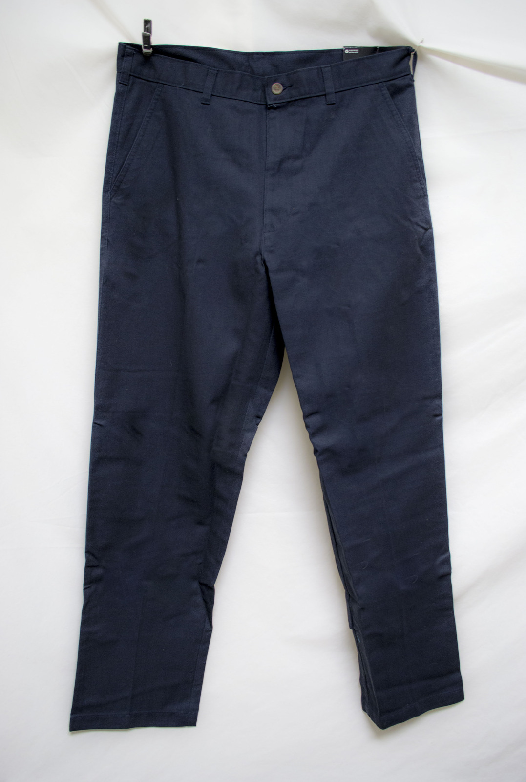 Free Ship 2 Lot of 2 Men's 34'' x 32'' Jeans Men's Plaint Dress Pants Dark Blue