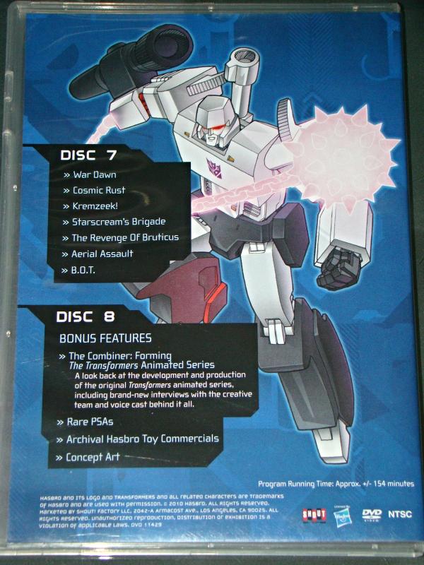 (DVD) Anime - TRANSFORMERS - SEASON TWO - VOLUME ONE - DISCS 7 & 8