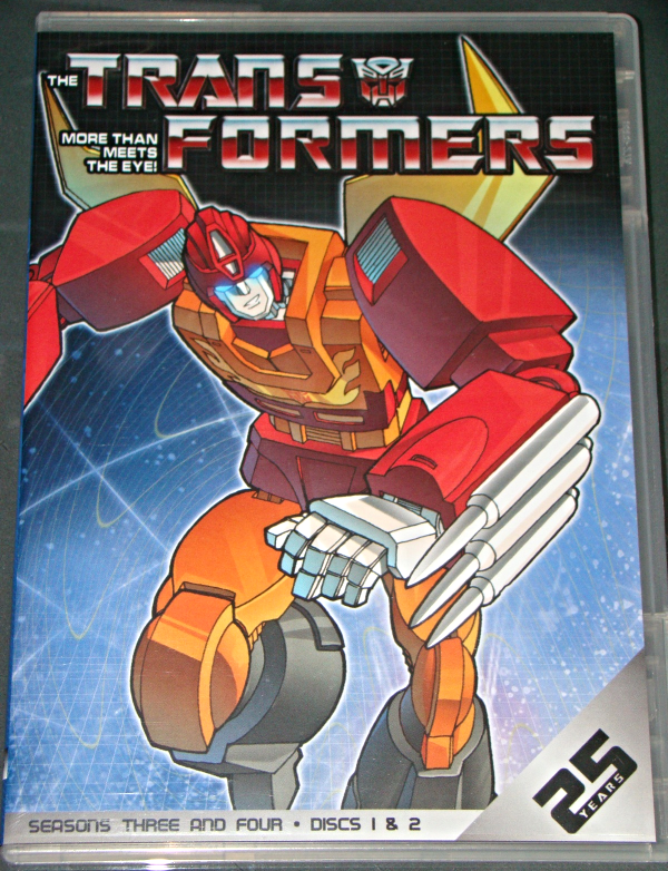 (DVD) Anime - TRANSFORMERS - SEASONS THREE AND FOUR - DISCS 1 & 2