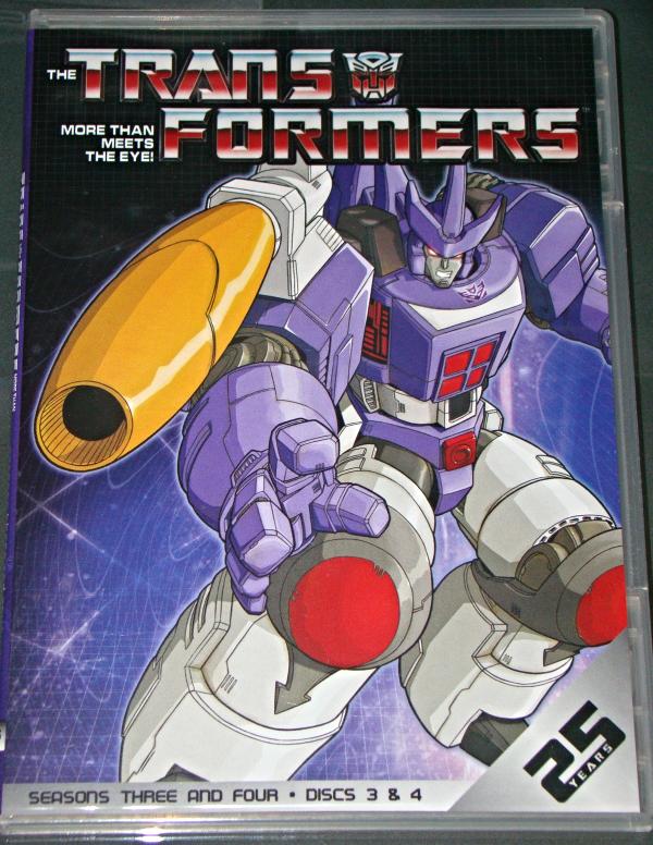 (DVD) Anime - TRANSFORMERS - SEASONS THREE AND FOUR - DISCS 3 & 4