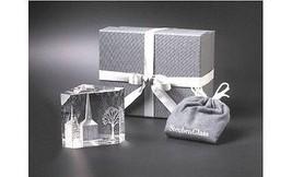 Steuben Glass WINTER CHURCH Rare Eric Hilton Design, New in Box Crystal ... - $495.00