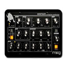 Classic Synthesizer Mouse Mat. Retro Mouse pad Music Synth Gift - $7.90