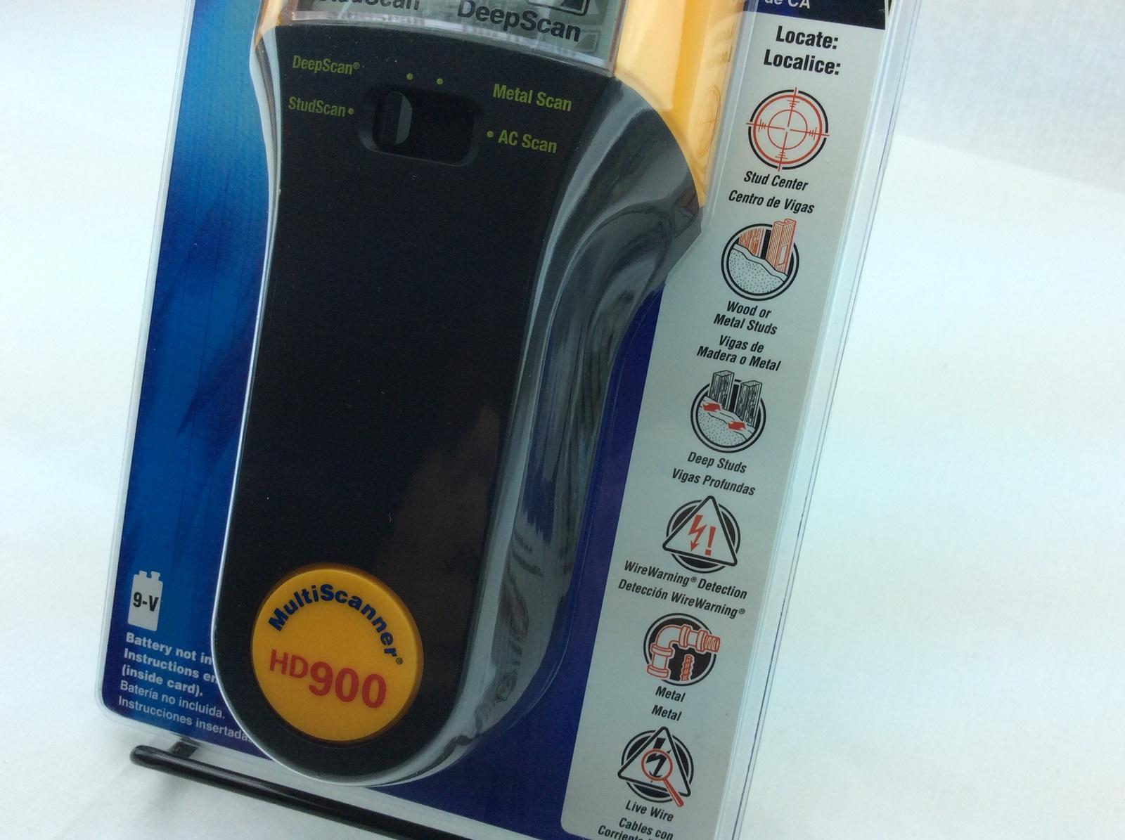 Zircon Electronic Stud Sensor HD900 Stud Finder Multi Scanner