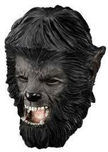 DELUXE QUALITY ADULT LATEX WOLFMAN THE WOLFMAN OVERHEAD MASK - $45.42