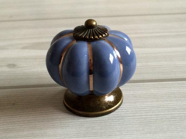 Blue Pumpkin Knobs Kitchen Cabinet Knobs Dresser Knob Drawer Knobs Pulls Handles