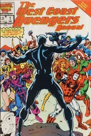 West Coast Avengers Annual (Issue #1) [Comic] by Steve Englehart; Mark Bright
