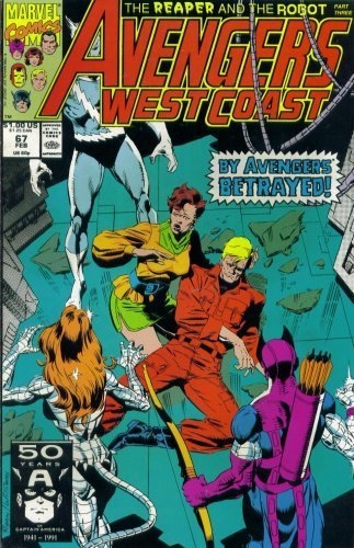 Avengers West Coast #67 : Converging Trajectories (Marvel Comics) [Paperback]...