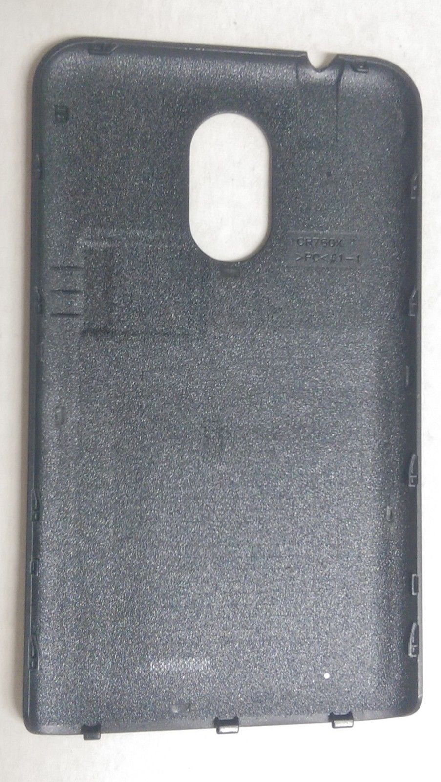 OEM Samsung Galaxy S2 S II 2 R760 Back Cover Battery Door - Gray / Black