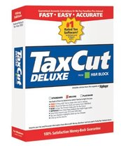 TaxCut Deluxe 2003 [CD-ROM] Windows 98 / Windows 2000 / Windows Me / Windows ... - $24.74