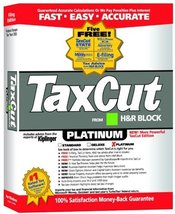TaxCut Platinum 2002 [CD-ROM] Windows 98 / Windows 2000 / Windows Me / Window... - $39.59