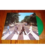 THE  BEATLES ABBEY ROAD GREEN COLORED VINYL LP - $371.25