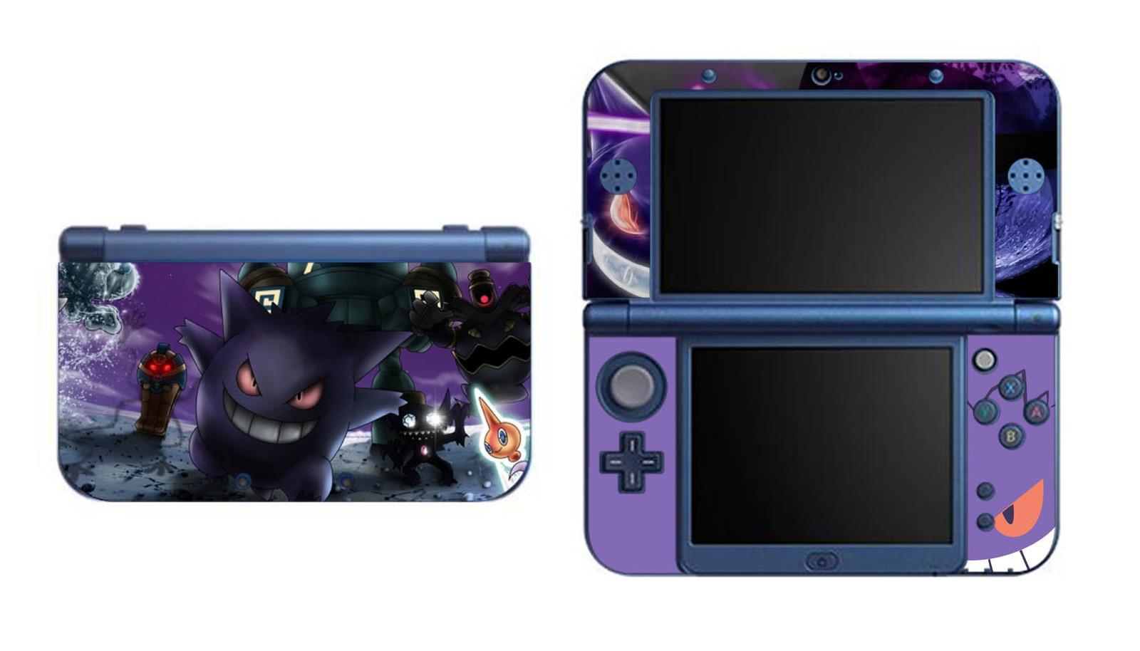 Pokemon Gengar NEW Nintendo 3DS XL LL Vinyl Skin Decal Sticker for sale  USA