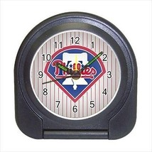 Philadelphia Phillies Compact Travel Alarm Clock (Battery Included) - Baseball - $9.94