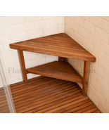 Teak Corner Bench Small for Shower and Outside area - $199.00