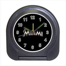 Miami Marlins Compact Travel Alarm Clock (Battery Included) - MLB Baseball - $9.94