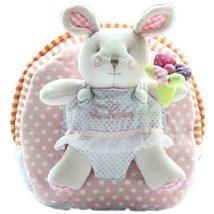 Cute Infant Knapsack Lovely Baby Bag Toddler Mini Backpack Pink Rabbit 1-4Y