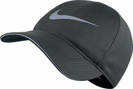 NEW! NIKE Unisex Aerobill Elite H86 Running Adjustable Hat-Anthracite 84... - $51.62