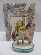 Enesco Cherished Teddies May Monthly Carousel Figurine #755265 BRAND NEW... - $9.85