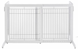 Richell Small Cool Breeze Freestanding Pet Gate Folds flat - Tall 961-94158 - $164.92
