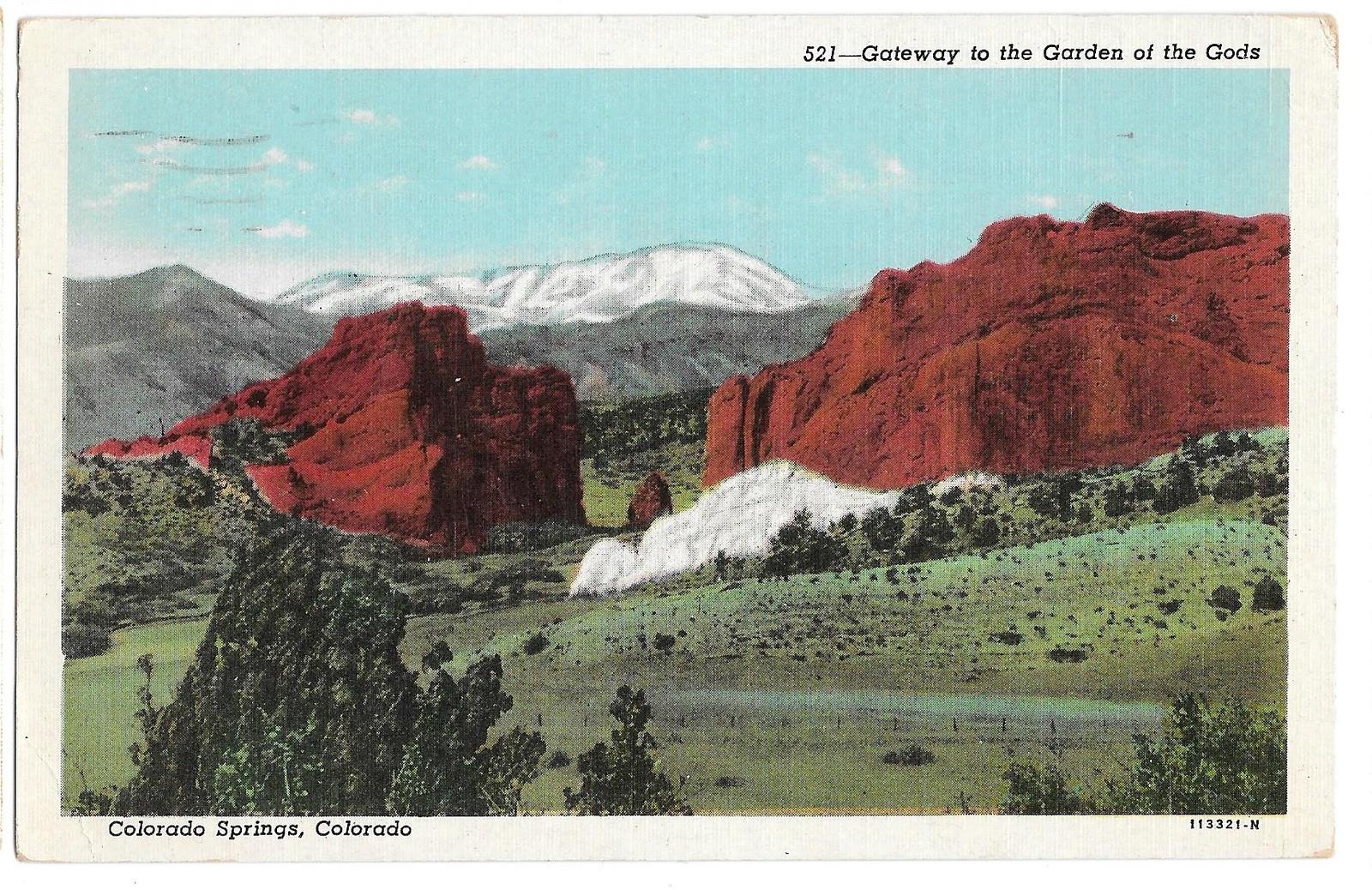 99 br 1925 1bx co colorado springs gateway to garden of the gods