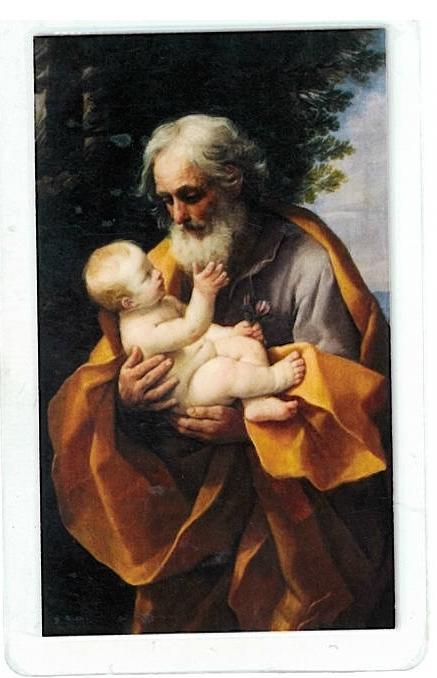 Laminated prayer card   san jose 300.0003 001