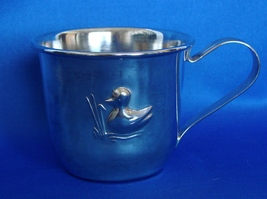 Silver Baby Sippy Cup - $6.99