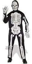 EVA SKELETON 3D BONES ADULT HALLOWEEN COSTUME MEN'S LG - $34.13