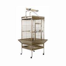 Prevue Hendryx Medium Wrought Iron Select Bird Cage - Pewter 961-PP-3152W - $340.25