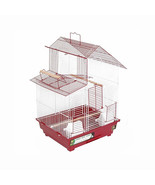 Prevue Hendryx House Style Bird Cage - Red 961-PP-SP41614R - $80.45