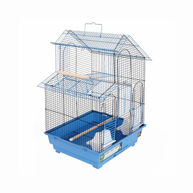Prevue Hendryx House Style Bird Cage - Blue 961-PP-SP41614B