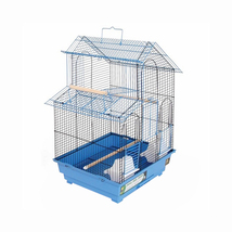 Prevue Hendryx House Style Bird Cage - Blue 961-PP-SP41614B - $82.00