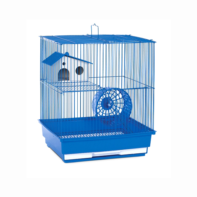 Prevue Hendryx Two Storey Hamster and Gerbil Cage - Blue 961-PP-SP2010B