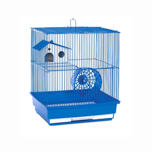 Prevue Hendryx Two Storey Hamster and Gerbil Cage - Blue 961-PP-SP2010B - $43.36