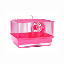 Prevue Hendryx Single Storey Hamster Cage - Pink 961-PP-SP2000PK - $38.23