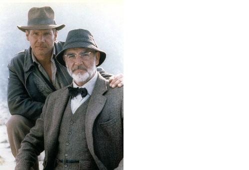 Indiana Jones Sean Connery Harrison Ford 34C 8X10 Color Movie Memorabilia Photo
