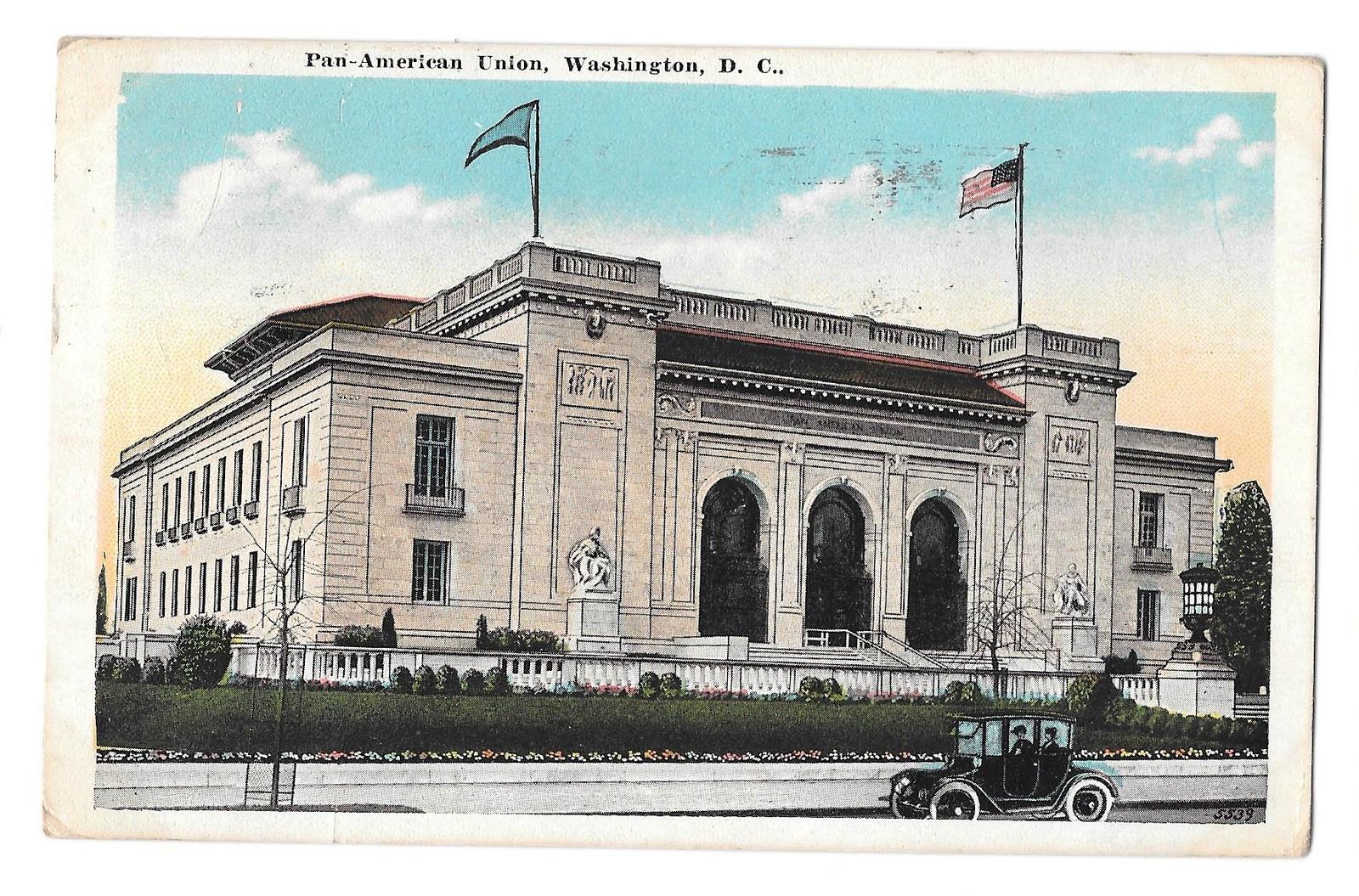 99 br 1925 1bx washington dc pan american union