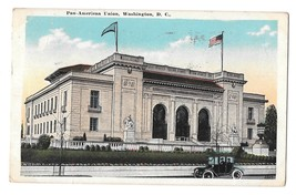 Washington DC Pan American Union Building Vintage Postcard 1926 - $4.74