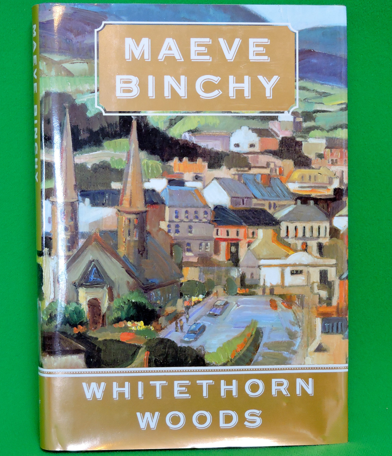 "2007 1st US Edition Book - ""Whitethorn Woods"" by Maeve Binchy - Mint!"