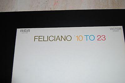 Feliciano 10 to 23 (RCA; Vinyl, 1969)