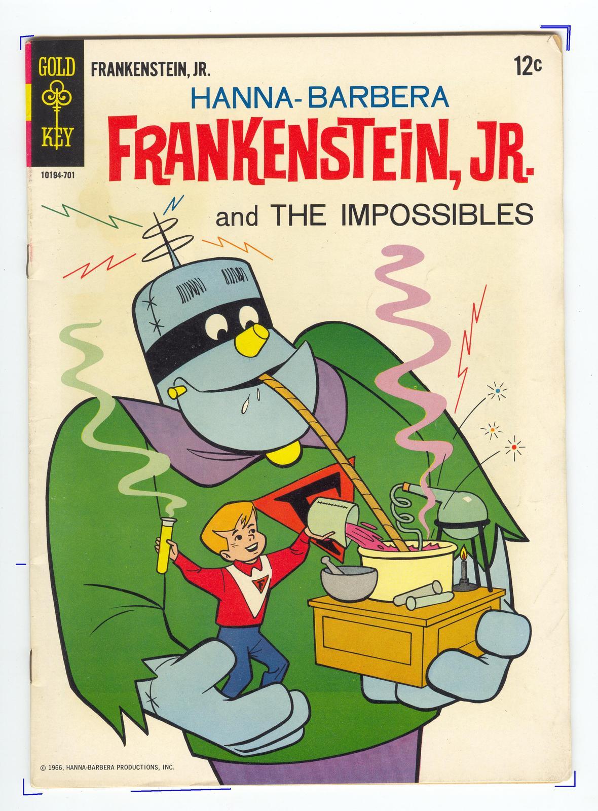 Comic frankenstein jr.0