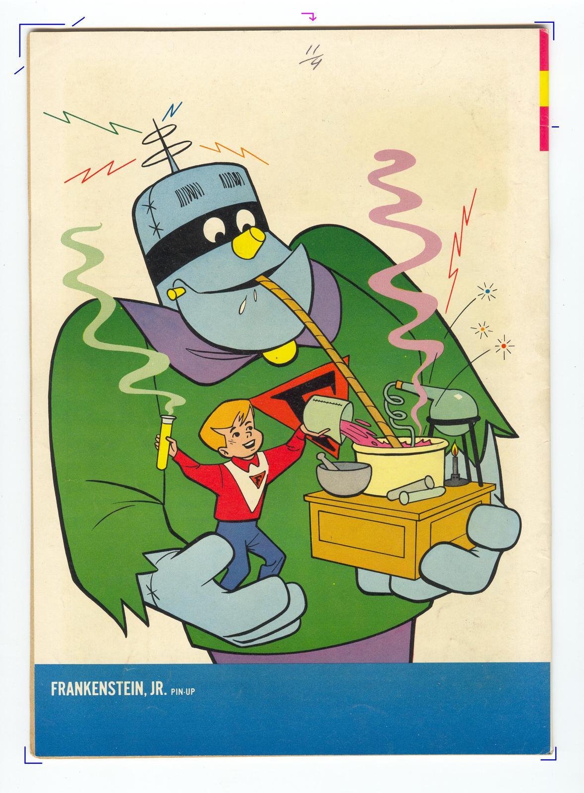 No 1 Issue Comic Book RARE Frankenstein Jr 1 Gold Key 1966 Cartoon Hanna Barbara