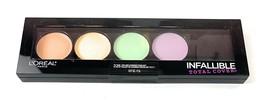 L'Oreal Paris Infallible Total Cover Pro Color 225 Correcting Kit Palett... - $8.32